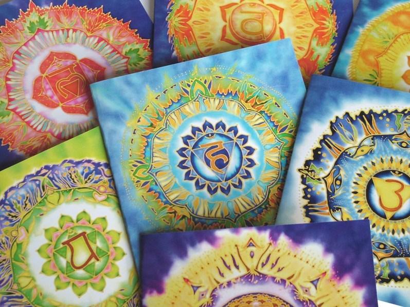Fiona Stolze Set of Chakra Mandala Cards