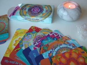 A Sea of Calm - a mandala oracle deck