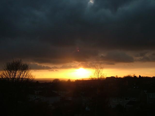 sunset bristol fionastolze silkandart