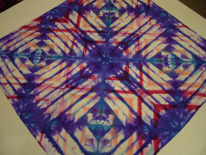 Union Jack Fiona Stolze silk painting